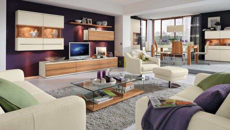 Загромождение мебелью гостиной