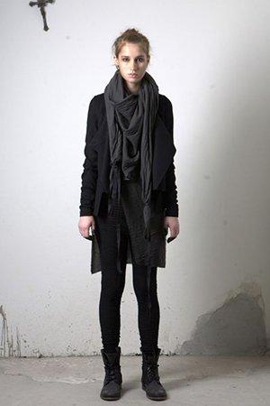 Одежда черного цвета