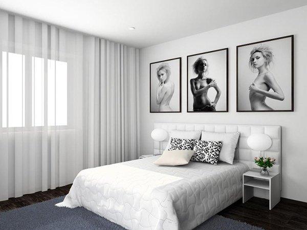 Плакаты в спальне