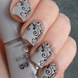 Идея росписи ногтей