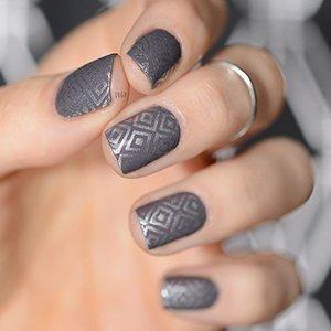 Серый с серебром