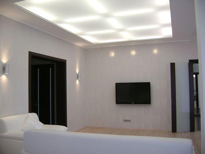 Светодиоды на потолке