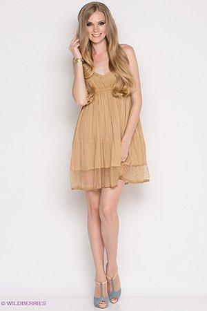 Женственное короткое платье