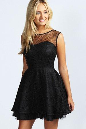 Короткое платье на выпускной вечер