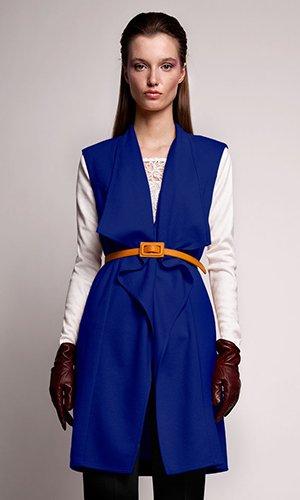 Модный образ с длинной кофтой