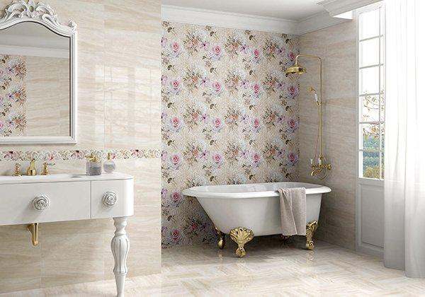 Ванная комната во французском стиле