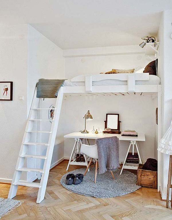 Ниша в однокомнатной квартире дизайн