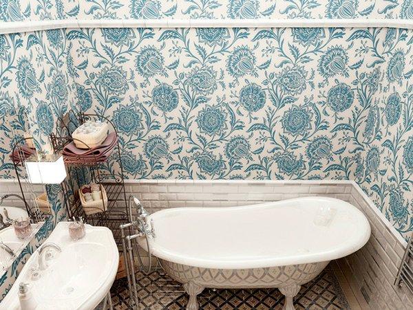 Дизайн интерьера ванны в прованском стиле