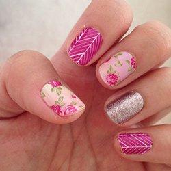 Рисунки и узоры на ногтях