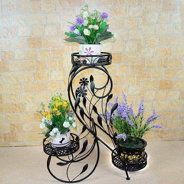 Подставк на три цветка