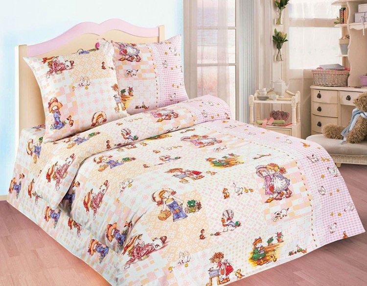 Комплект постельное белья для девочки