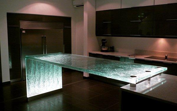 Подсветка кухонного стола