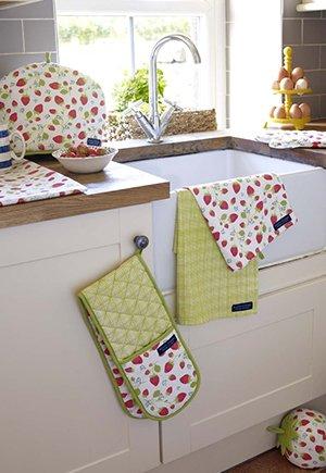 Кухонный текстиль в интерьере