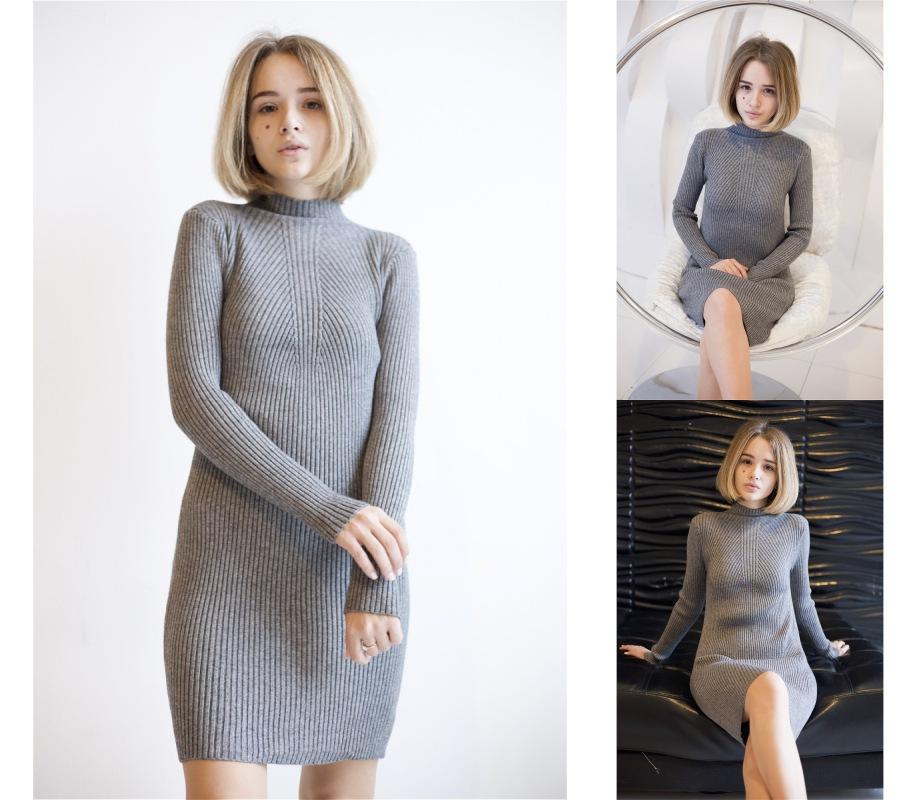 Платье-лапша RADOST