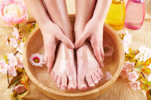 Ванночки для ног от повышенной потливости