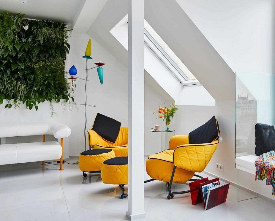 Удобные кресла для лаунж-зоны