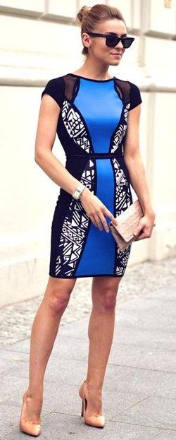 Платье визуально стройнит