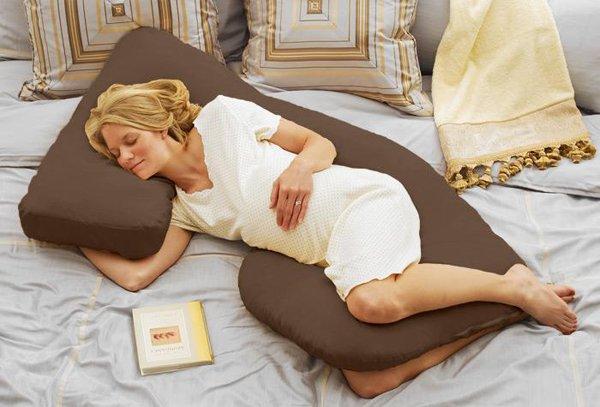 Позы сна во время беременности