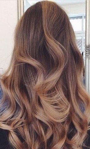 Сомбре окрашивание волос