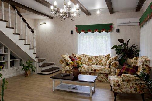 Интерьер зала в стиле прованс