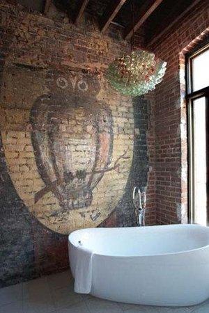 Ванна лофт