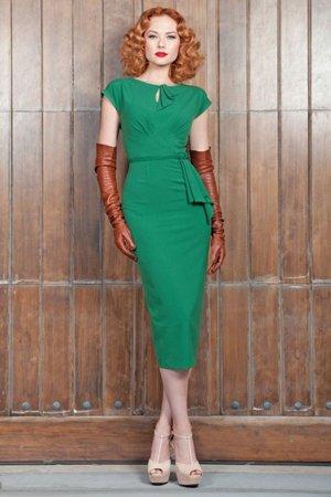 Платье в стиле 40-х