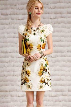 Платье с подсолнухом