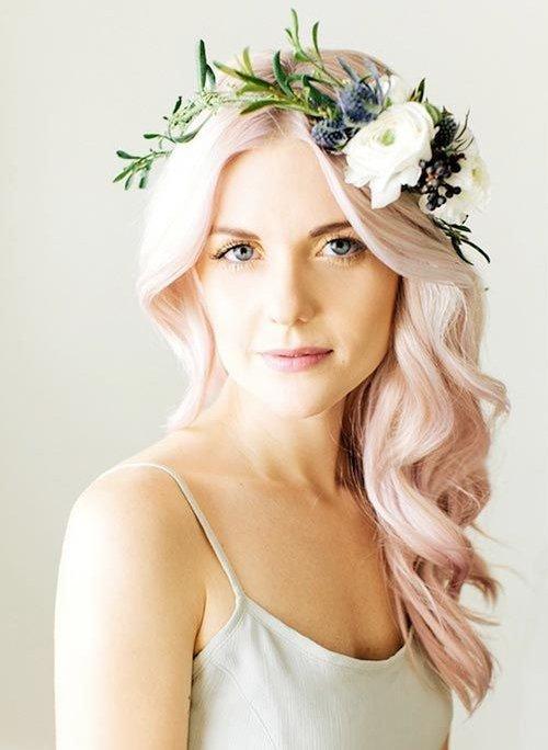 Окрашивание волос в платиновый цвет