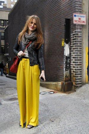 Юбка-брюки с высокой талией