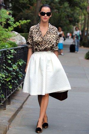 Леопардовая рубашка