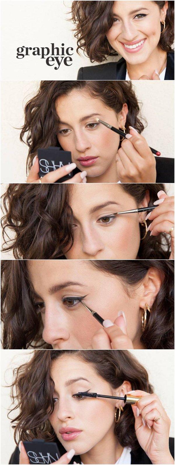 Повседневный макияж пошаговое фото