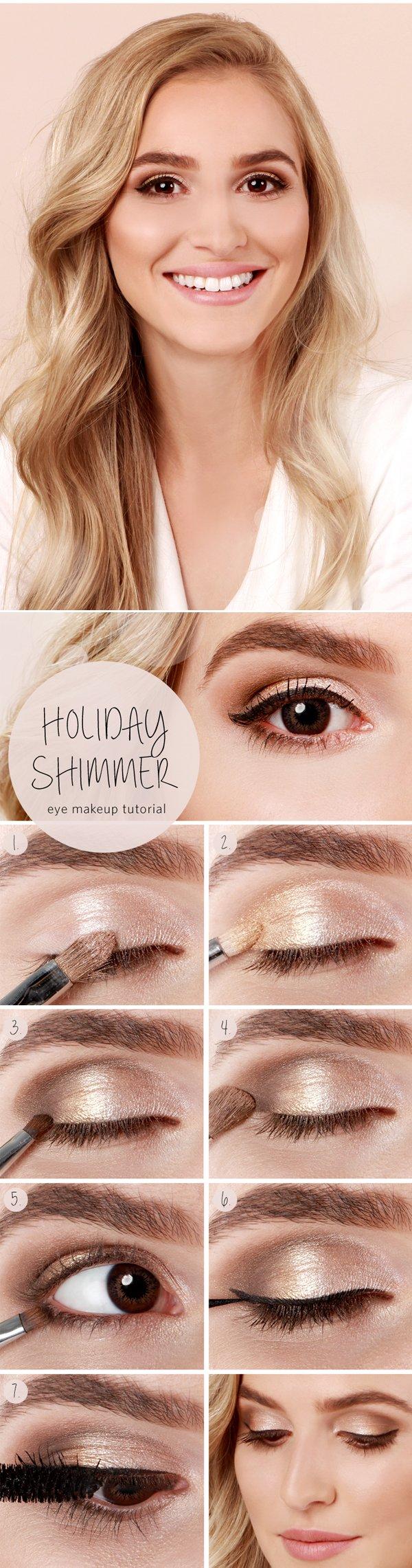 макіяж для блондинок