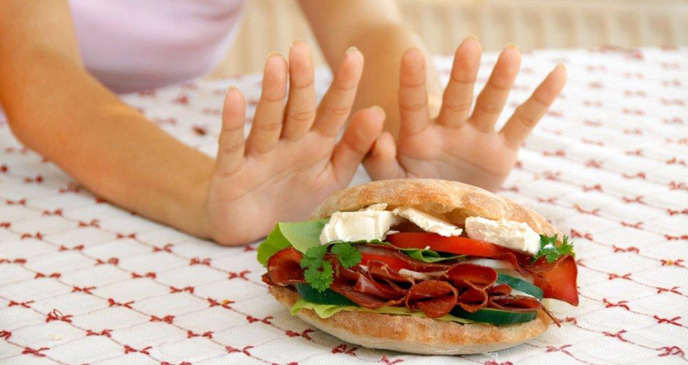 Отказ от высококалорийной еды