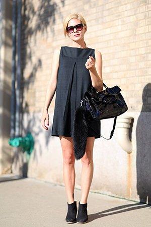 Безразмерное платье