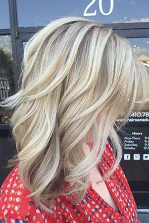 3д на светлые волосы фото