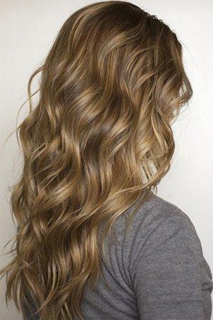 Окрашивание волос в технике 3д