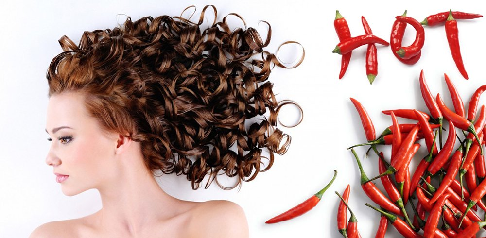 перець для росту волосся