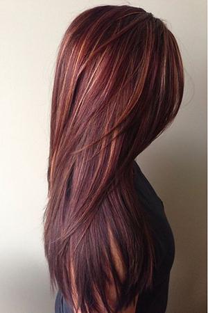 Фото техники 3д окрашивания волос