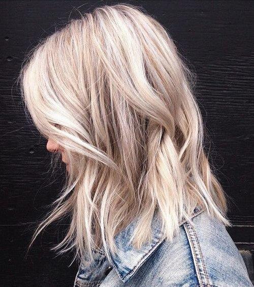 Цвет волос пепельный блондин