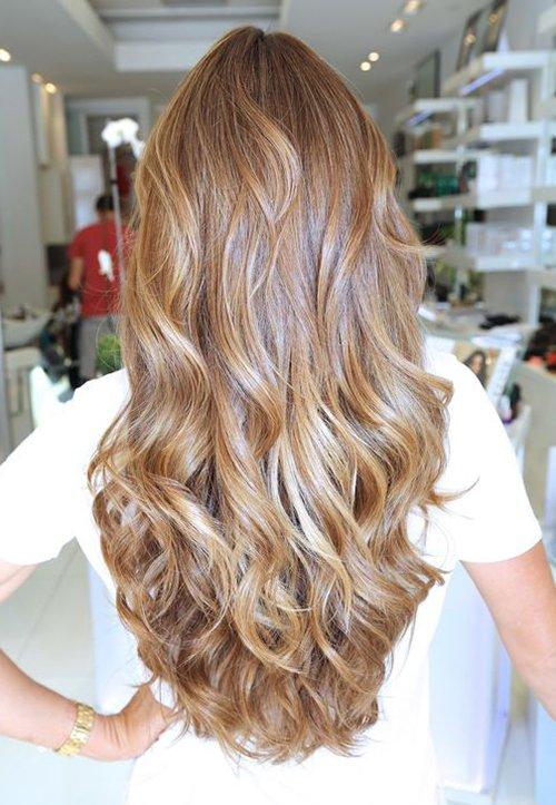 Пшенично-медовый цвет волос