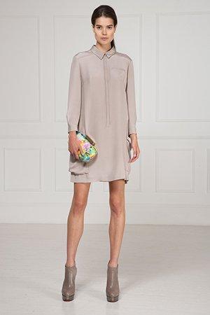 Вечернее платье фасона рубашка