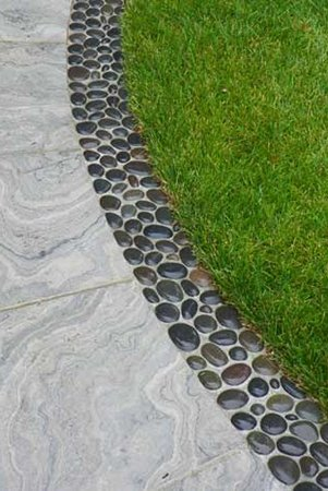 Декор садовой дорожки фото