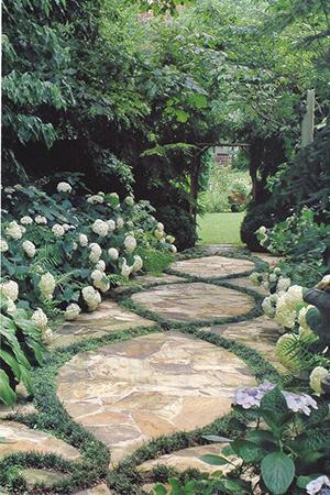 Идея садовой дорожки