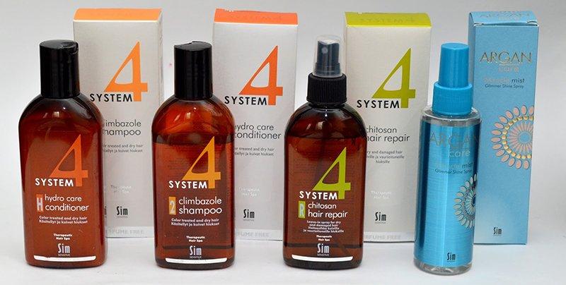 Средства для волос SYSTEM 4