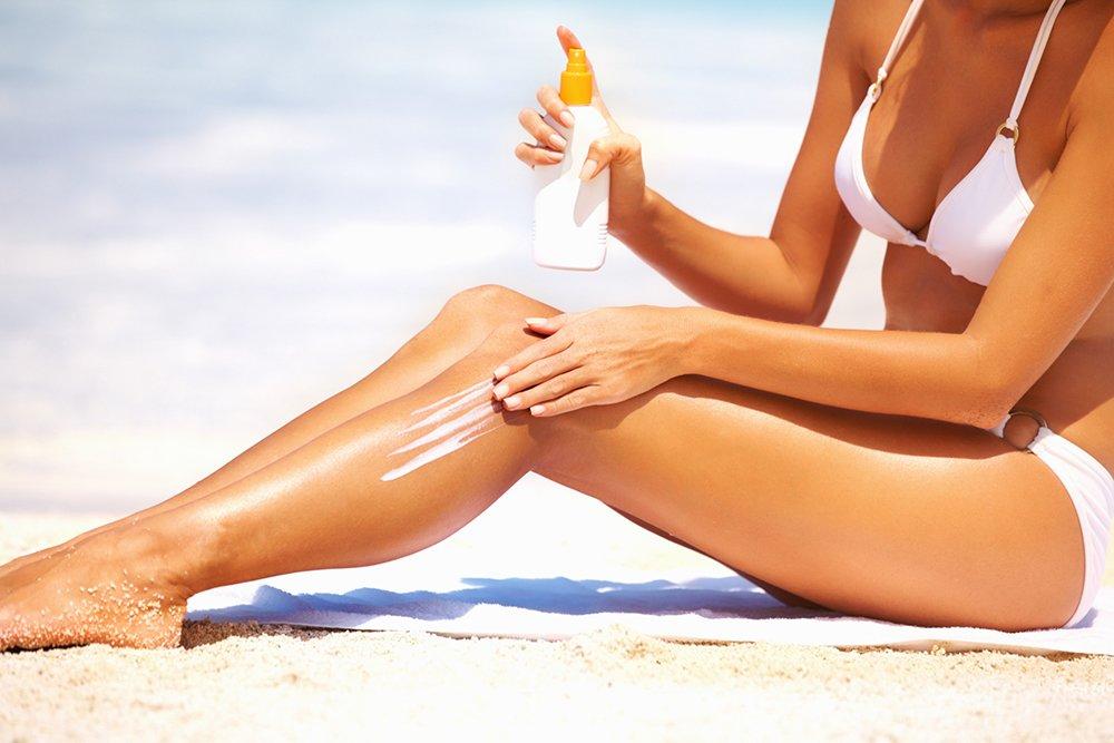 Защита кожи от солнечных лучей