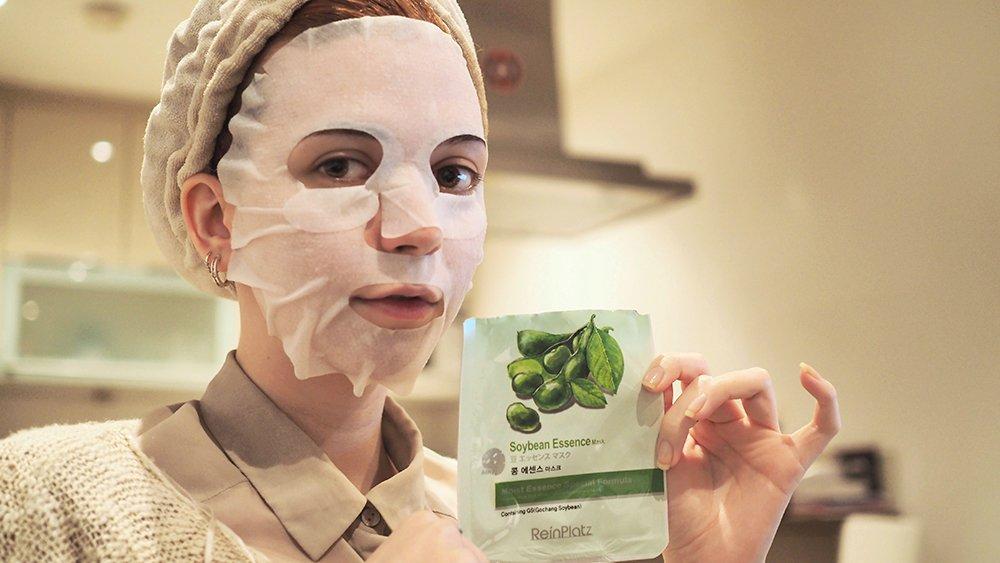 Как использовать тканевую маску