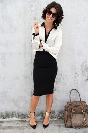 Юбка с блузкой