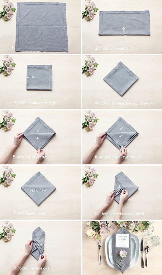 Салфетка конверт