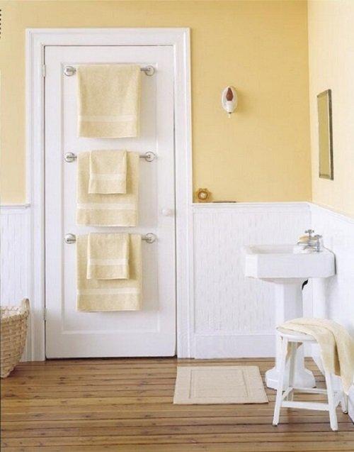 Идея хранения полотенец