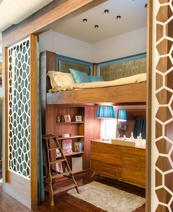 Дизайн детского уголка в квартире с нишей